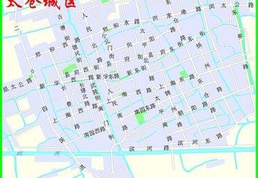 太仓城区地图2
