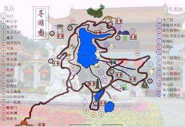 仙湖植物园导游图 (.