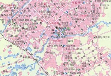 【玉林地图】玉林全图查询_2015广西玉林电子地图下载图片