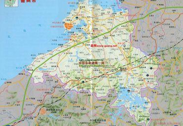 海南儋州市地图