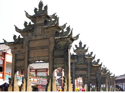隆昌石牌坊旅游区旅游攻略图片