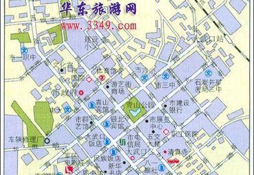 宁夏石嘴山市城区地图