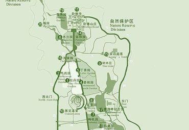 北京植物园游览区导游.