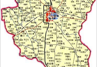 河南周口淮阳地图