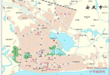 安庆地图全图 安徽 地图 再看安徽地图,接下来来到 安庆 市
