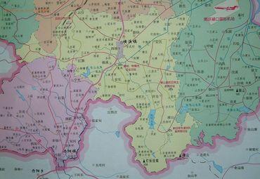 横溪镇地图