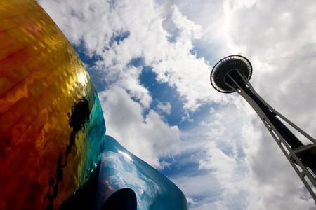 <西雅图一日游>波音工厂,太空针塔,派克市场,休闲西雅图市区游览