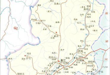 德宏州盈江县地图