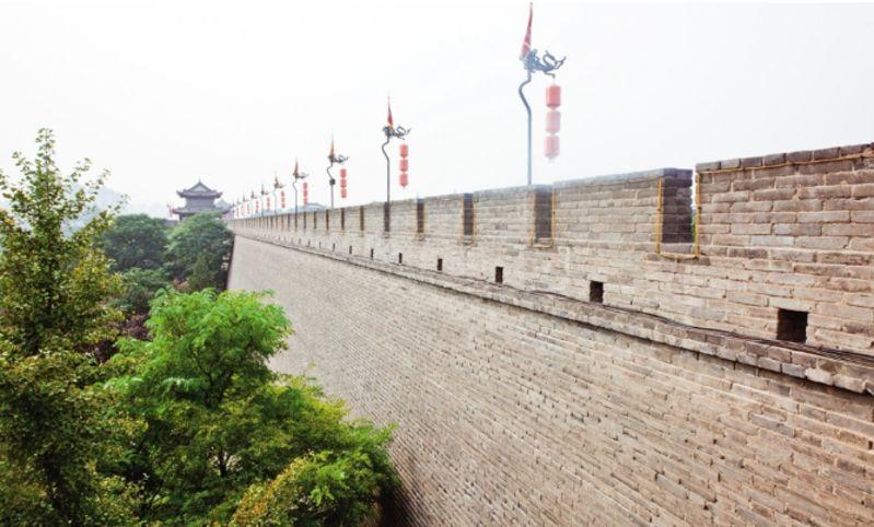西安古城墙旅游