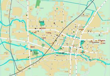 保定市市区地图