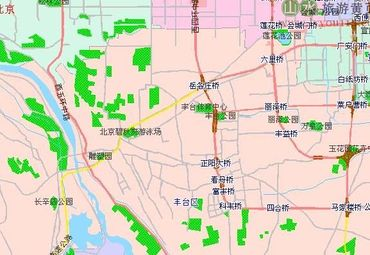丰台区地图