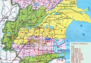 【东营地图】东营全图查询图片