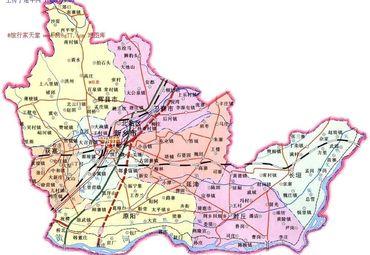 新乡市地图