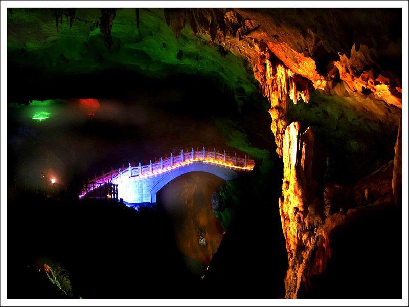 湟川三峡 连州湟川三峡 清远连州地下河图片