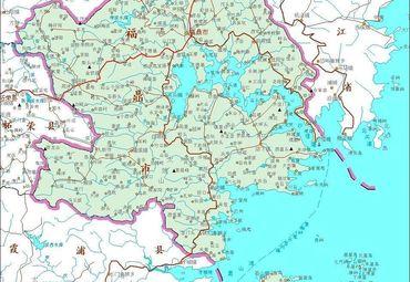 福建福鼎市地图