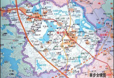 广东东莞寮步镇地图