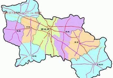 河南省商丘市行政区划