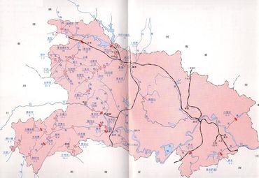 湖北省地图3