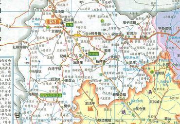 榆林地图全图 图片合集图片