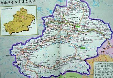 【新疆地图】新疆全图查询_2015新疆电子地图下载_途牛