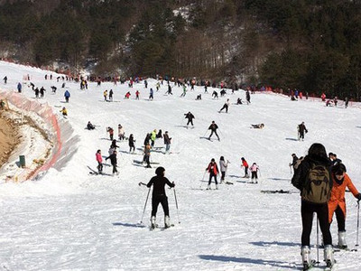 大明山滑雪