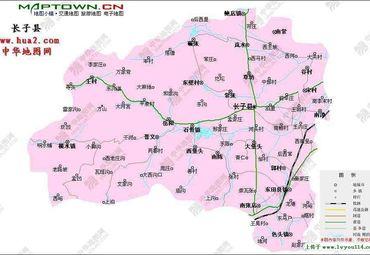 古城长治地图