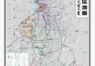 乌海市区地图