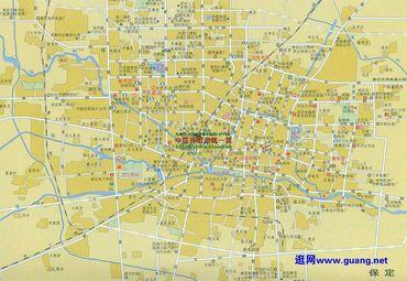 保定市市区详细地图