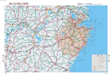 浙江地图全图高清版图片展示_浙江地图全图高清版相关图片下载图片