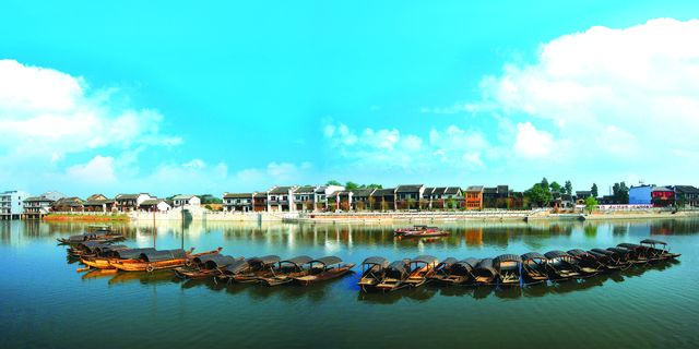 长沙靖港古镇风景图片