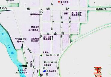 【玉门市地图】玉门市全图查询_2016中国甘肃酒泉玉门