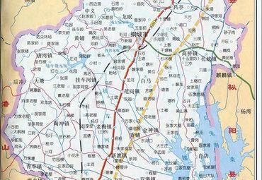 桐城地图_安庆桐城市地图