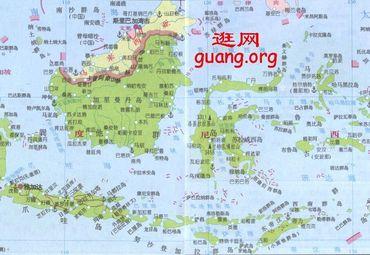 印尼雅加达地图_北极地图中文版 _排行榜大全