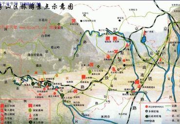 北京房山区旅游景点示