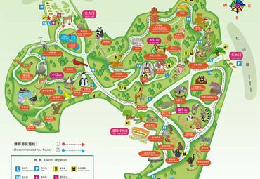 红山动物园地图