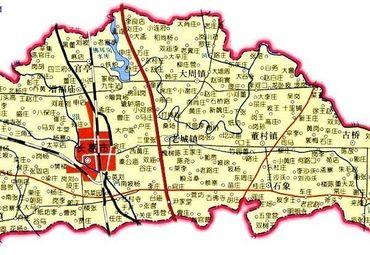 河南省许昌地图高清全图_许昌市政区图
