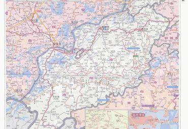 安徽池州市铜陵市地图图片