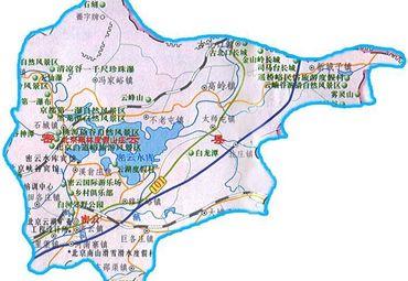 【密云区地图】密云区全图查询_2016中国北京密云区