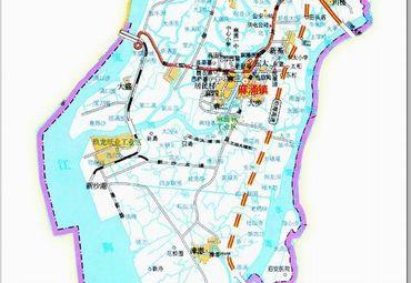 广东东莞麻涌镇地图