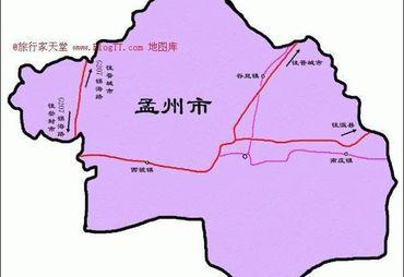 【孟州市地图】孟州市全图查询_2018河南焦作孟州市