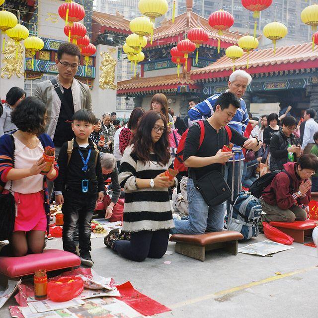 香港黄大仙庙旅游图片