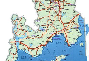 台山市地图