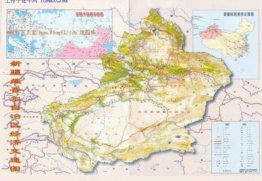 新疆地图全图高清版