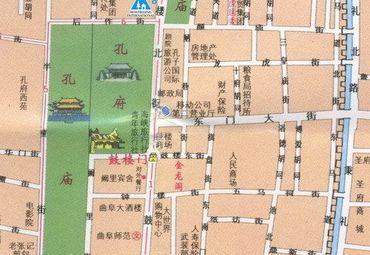 【曲阜市地图】曲阜市全图查询_2016中国山东济宁曲阜