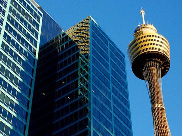 <悉尼塔旋转餐厅自助餐>可俯瞰悉尼全景