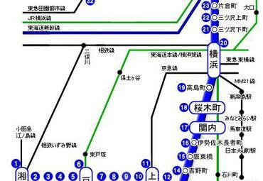 【横滨地图中文版】横滨全图查询