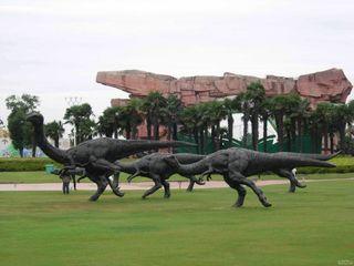 常州恐龙园 恐龙谷温泉自驾2日游 宿常州锦江国际大酒店