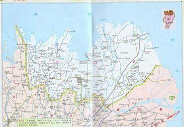 山东东营河口县地图图片