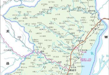 【渭南地图】渭南全图查询_2018陕西渭南电子地图下载