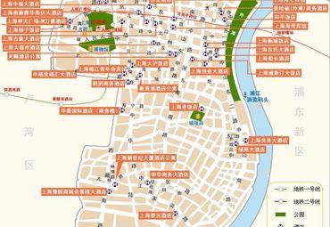 上海豫园导游图
